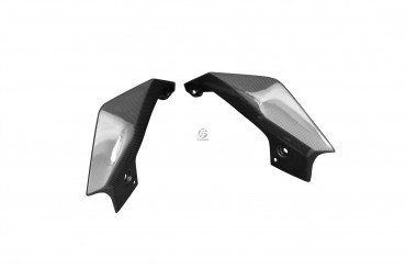Carenado lateral trasero (parte superior) Carbono por Yamaha MT-09