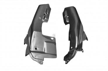 Carenado lateral trasero (parte inferior) Carbono por Yamaha MT-09 2013-2016