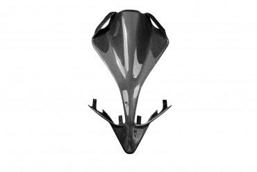 Carbon Heck Unterverkleidung ohne Ausschnitte für Ducati Panigale 1299 Carbon+Fiberglas Leinwand Glossy Carbon+Fiberglas | Leinwand | Glossy