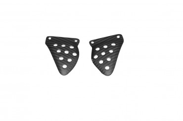 Carbon Rear Heel Guards for Buell XB9R / XB9S / XB12R / XB12S