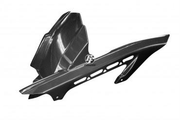 Carbon hinteres Schutzblech für Kawasaki Z900 2017- Carbon+Fiberglas Leinwand Glossy Carbon+Fiberglas | Leinwand | Glossy