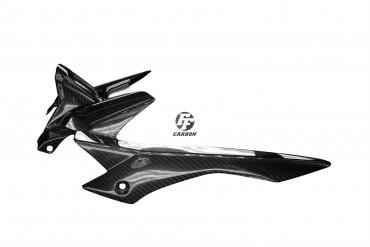 Carbon hinteres Schutzblech für Yamaha MT-07 Carbon+Fiberglas Köper Glossy Carbon+Fiberglas | Köper | Glossy