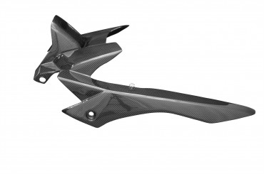 Carbon hinteres Schutzblech für Yamaha MT-07 Carbon+Fiberglas Leinwand Glossy Carbon+Fiberglas | Leinwand | Glossy