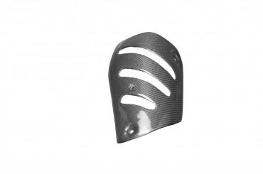 Carbon Hitzeschutz für BMW K1300S / K1300R 100% Carbon Leinwand Glossy 100% Carbon | Leinwand | Glossy