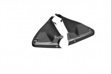 Carbon Innere Seitenverkleidung für Ducati Hyperstrada / Hypermotard 821 2013-2015 939 2016-