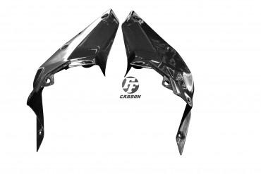 Carbon Innere Seitenverkleidung für KTM Duke 125/390 2017- Carbon+Fiberglas Leinwand Glossy Carbon+Fiberglas | Leinwand | Glossy