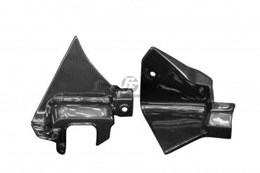 Carbon Instrumenten Abdeckung Seitenteile für Yamaha YZF-R1 M 2020-