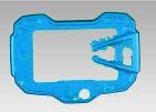 Carbon Instrumenten Abdeckung für Ducati Multistrada 1260 2018-