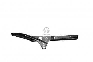 Carbon Kettenschutz für Aprilia RSV Mille Carbon+Fiberglas Köper Glossy Carbon+Fiberglas | Köper | Glossy
