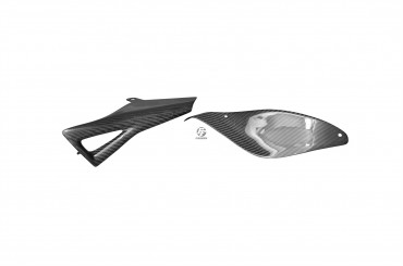 Carbon Kettenschutz für MV Agusta F4 750 / 1000 / 1078 1999-2009 100% Carbon Köper Glossy 100% Carbon   Köper   Glossy