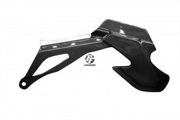 Carbon Kettenschutz für Yamaha MT-10 Carbon+Fiberglas Leinwand Glossy Carbon+Fiberglas | Leinwand | Glossy