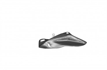 Carbon Kettenschutz Unten für Aprilia RSV 1000R 2004-2009 / Tuono 2006-2009 Carbon+Fiberglas Leinwand Glossy Carbon+Fiberglas | Leinwand | Glossy