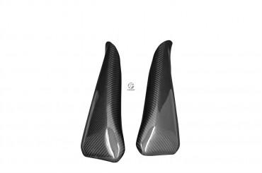 Carbon kleine Heck Seitenverkleidung bei nicht Serien Endtopf für Ducati Hypermotard 796 / 1100