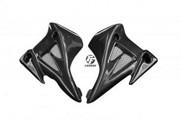 Carbon Kühlerverkleidung (alternatives Design) für Suzuki B-King 1300 2007-2011