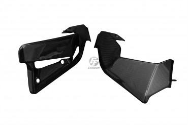 Carbon Kühlerverkleidung für Ducati Scrambler