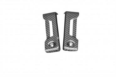 Carbon Kühlerverkleidung für Aprilia Shiver 2007-2016 Carbon+Fiberglas Köper Glossy Carbon+Fiberglas | Köper | Glossy
