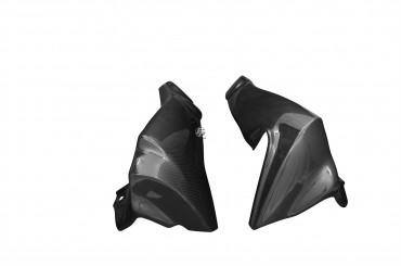 Carbon Kühlerverkleidung für BMW K1200 R