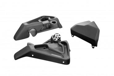Carbon Kühlerverkleidung für Yamaha MT-10 Carbon+Fiberglas Leinwand Matt Carbon+Fiberglas | Leinwand | Matt