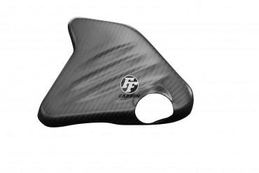 Carbon Kühlflüssigkeitsbehälter Cover für BMW K1200S/R / K1300S/R Carbon+Fiberglas Köper Matt Carbon+Fiberglas | Köper | Matt
