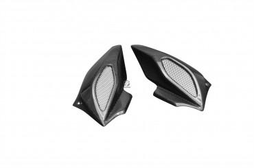 Carbon Lufteinlässe für MV Agusta Brutale 675/800 2013-2015/Dragster Carbon+Fiberglas Leinwand Glossy Carbon+Fiberglas | Leinwand | Glossy