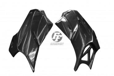 Carbon Lufteinlass Verkleidung für BMW K1300R Carbon+Fiberglas Leinwand Glossy Carbon+Fiberglas | Leinwand | Glossy