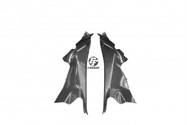 Carbon Lufteinlass Verkleidung für Ducati Panigale 899 / 959 / 1199 / 1299 Carbon+Fiberglas Leinwand Glossy Carbon+Fiberglas | Leinwand | Glossy
