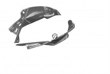Carbon Lufteinlass Verkleidung für Kawasaki ZX6R 2013-