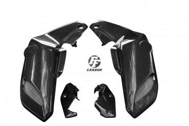 Carbon Lufteinlass Verkleidung für Yamaha MT-07 2018- Carbon+Fiberglas Köper Glossy Carbon+Fiberglas | Köper | Glossy