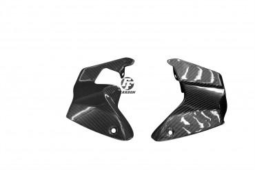 Carbon Lufteinlass Verkleidung für Aprilia RSV 1000R Tuono 2006-2011 Carbon+Fiberglas Köper Glossy Carbon+Fiberglas | Köper | Glossy