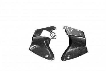 Carbon Lufteinlass Verkleidung für Aprilia RSV 1000R Tuono 2006-2011 100% Carbon Leinwand Matt 100% Carbon | Leinwand | Matt