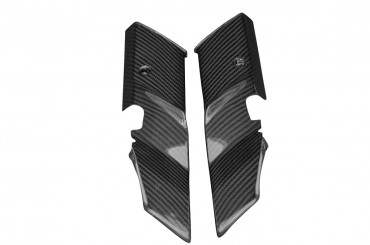 Carbon obere Gabelverkleidung für Kawasaki Z1000 2010-2013 Carbon+Fiberglas Köper Glossy Carbon+Fiberglas | Köper | Glossy