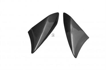 Carbon Obere Seitenverkleidung (Vorn) für Kawasaki Z1000 2010-2013 100% Carbon Leinwand Glossy 100% Carbon | Leinwand | Glossy