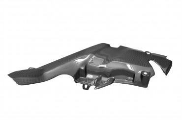 Carbon Hitzeschutz Oben für Yamaha YZF-R1 2007-2008