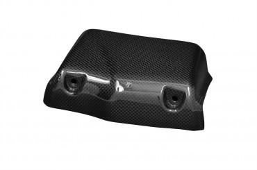 Carbon Ölkühlerabdeckung (8-Reihen) für Buell XB Carbon+Fiberglas Leinwand Glossy Carbon+Fiberglas | Leinwand | Glossy