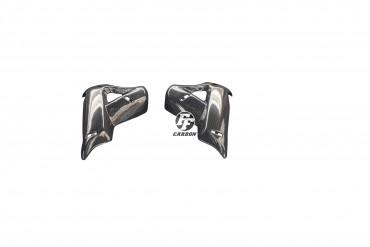 Carbon Rahmenabdeckung kurz für Triumph Tiger 800 XC XCx XCa XR XRx XRT