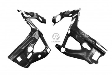 Carbon Rahmenverkleidung für BMW S 1000 RR 2019- Carbon+Fiberglas Leinwand Glossy Carbon+Fiberglas | Leinwand | Glossy