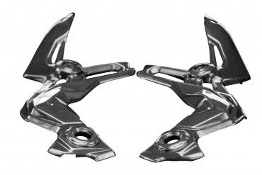 Carbon Rahmenverkleidung für Kawasaki Z900 2020-