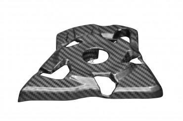 Carbon Ritzelabdeckung für Kawasaki Z1000 2010-2018 Carbon+Fiberglas Köper Glossy Carbon+Fiberglas   Köper   Glossy