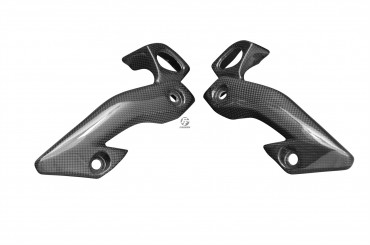 Carbon Scheinwerfer Seitenverkleidung für Yamaha FZ1-N Carbon+Fiberglas Leinwand Glossy Carbon+Fiberglas   Leinwand   Glossy