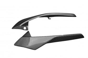 Carbon Scheinwerfer Seitenverkleidung für Yamaha FZ8 Carbon+Fiberglas Köper Glossy Carbon+Fiberglas | Köper | Glossy