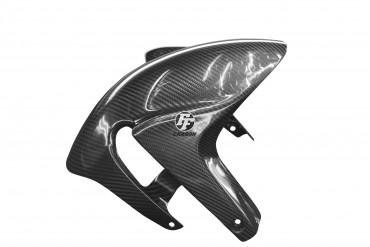 Carbon vorderes Schutzblech für Aprilia RSV4 / Tuono V4R 100% Carbon Köper Glossy 100% Carbon | Köper | Glossy