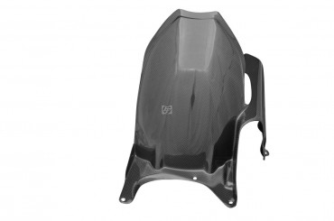 Carbon hinteres Schutzblech für Ducati Hypermotard 796 / 1100 Carbon+Fiberglas Leinwand Glossy Carbon+Fiberglas | Leinwand | Glossy