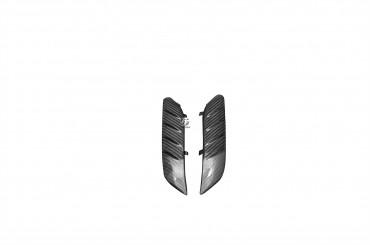 Carbon vorderes Schutzblech Seitenteile für Kawasaki ZZR 1400 / ZX-14R 2006-2015