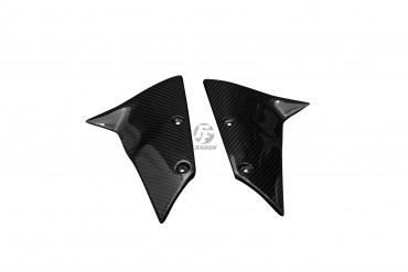 Carbon vorderes Schutzblech Seitenteile für Kawasaki ZX-6R 2005-2008 / ZX-10R 2004-2006