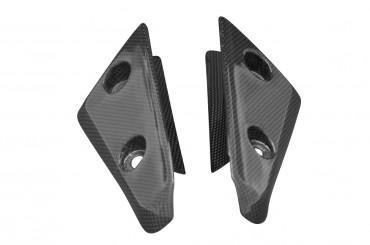 Carbon vorderes Schutzblech Seitenteile für Triumph Speed Triple 2011-2015