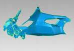 Carbon Schwinge Cover für Ducati Supersport 2017-