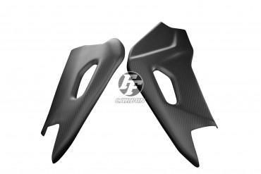 Carbon Schwingenverkleidung für Aprilia RSV 4 2009- 100% Carbon Leinwand Glossy 100% Carbon | Leinwand | Glossy