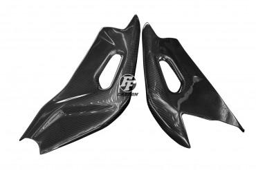 Carbon Schwingenverkleidung für Aprilia RSV 4 2009- 100% Carbon Köper Glossy 100% Carbon | Köper | Glossy