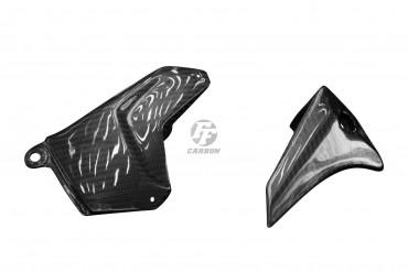 Carbon Schwingenverkleidung Kettenschutz Set für Kawasaki Ninja H2 2015-2018 / H2 SX 2018-