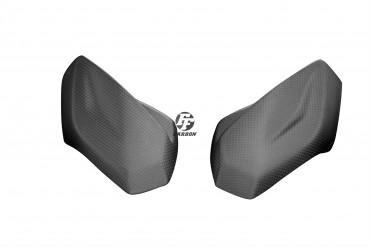 Carbon Frontverkleidung Seitenteile für Aprilia Tuono V4 1100 RR / Factory 2015-2020 100% Carbon Leinwand Matt 100% Carbon | Leinwand | Matt